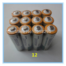 12 x AA 3000mAh 1.2 V Quanlity Rechargeable Battery AA 3000mAh BTY NI-MH 1.2V Rechargeable 2A Battery Baterias Bateria Batteries