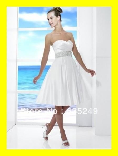Short White Wedding Dress Knee Length Dresses Cotton Tea Girls A-Line Knee-Length Beading Sleeveless Natural 2015 Free Shipping(China (Mainland))