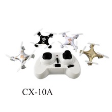 Sales RC Helicopter Cheerson CX10A CX10 Upgrade Headless 2.4GHz 6-Axis Gyro RC Quadcopter Headless Mini Drone