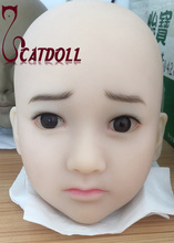 Buy CATDOLL NEW 126cm Mimi lovely sex doll heads,Japanese innocent face love doll heads,lifelike oral sex adult toy realistic,HD-004