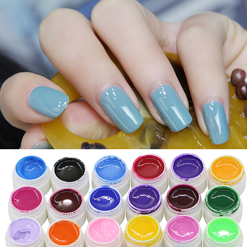 2016 New Arrival 30/36 Pcs Mix Color Nail Art UV Gel Pure Professional Colorful Nail Gel UV Set(China (Mainland))
