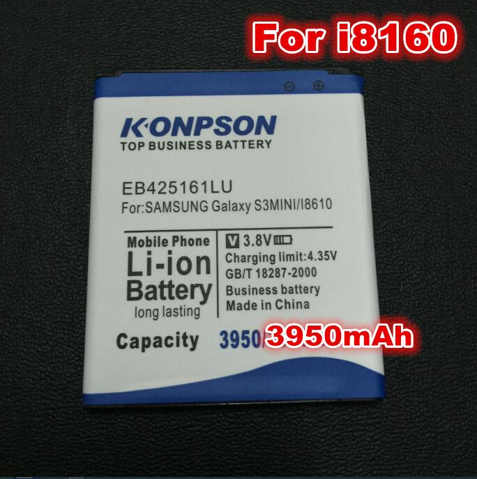 Top 3950mAh For samsung galaxy s3 mini battery mobile phone Batteries EB425161LU i8190 i699 i8160 S7562 S7562I S7568(China (Mainland))