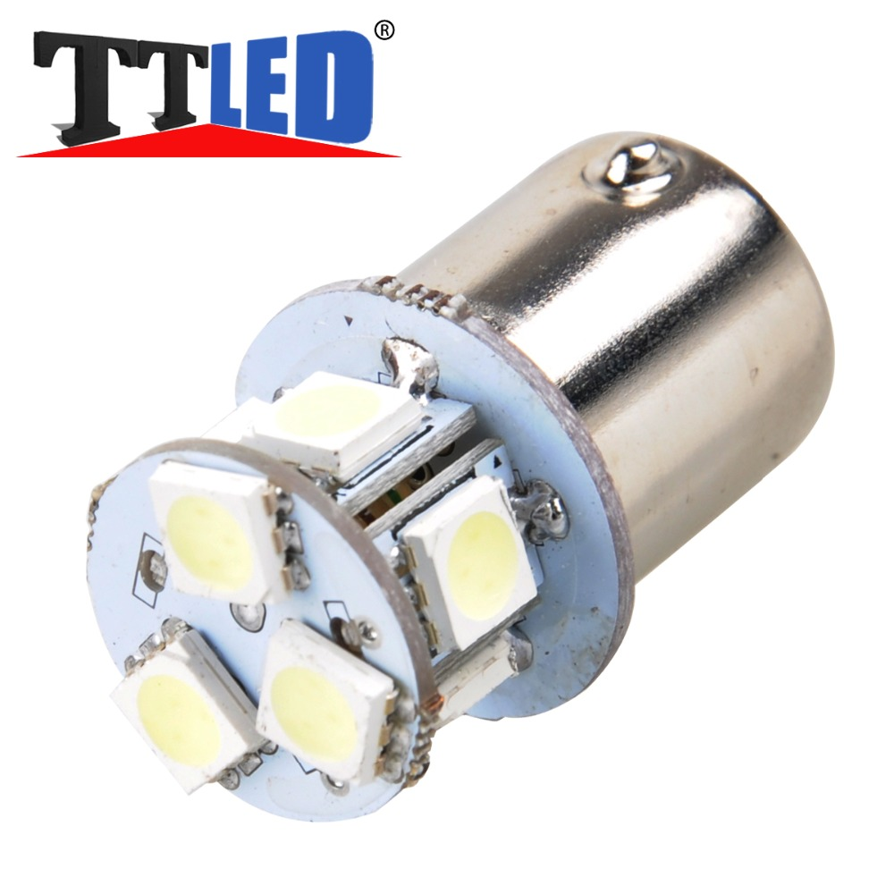 10pcs 1156 1157 8smd 5050 led S25 ba15s bay15d bau15 p21w bay15d Car auto Turn Signal Tail brake light lamp bulb DC12V #LF69(China (Mainland))
