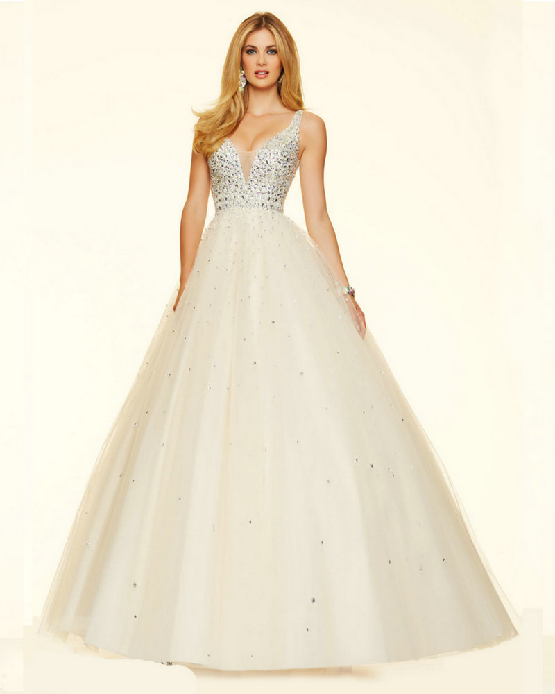 Popular Champagne Color Prom Dress-Buy Cheap Champagne ...