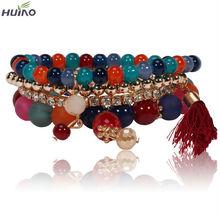 2015 Sale Time-limited Bohemia Women Bracelets & Bangles Bracelet Jewelry Unique Design High Quality Colored Friendship Bracelet(China (Mainland))