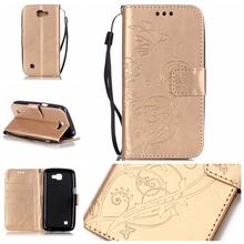 Buy Flip Case coque LG K4 Lte Case fundas LG K4 Case Cover K120e K130e K121 + Card Holder for $2.99 in AliExpress store