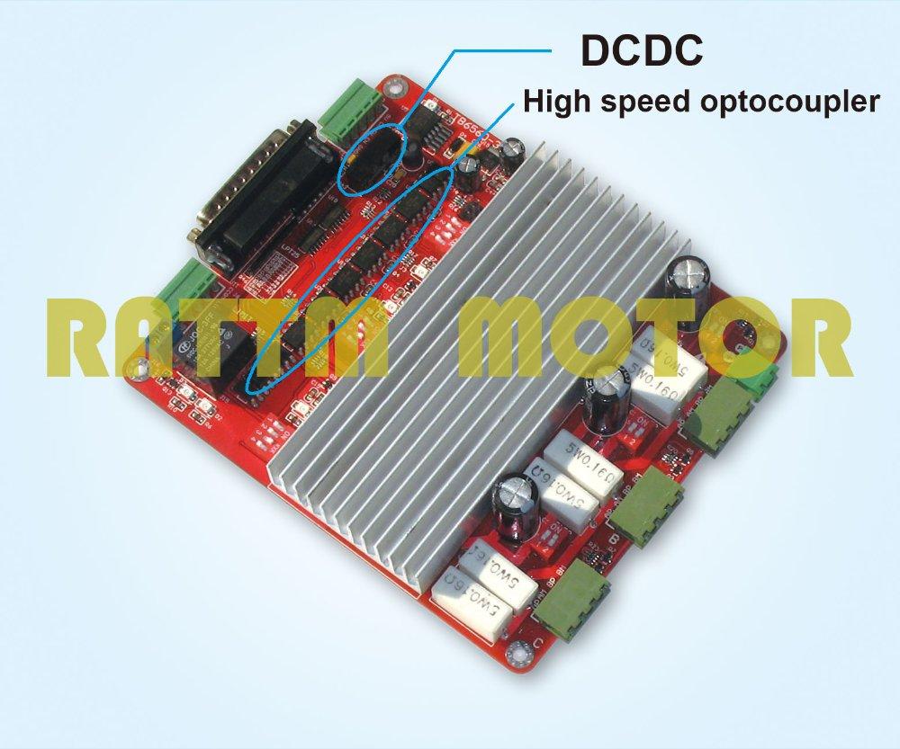 CNC контроллер 3 TB6560 v,
