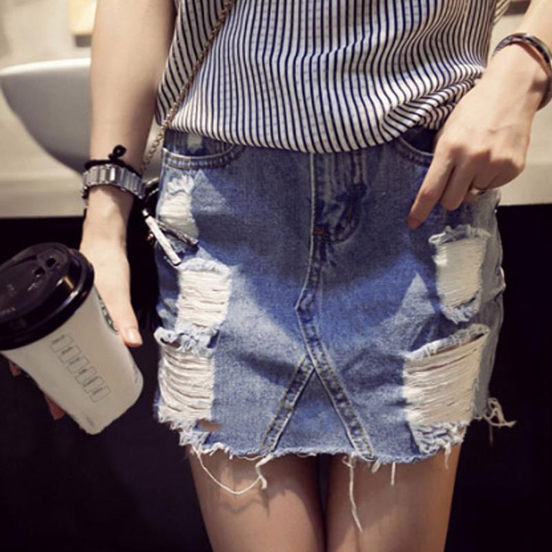 цены на Женская юбка Denim skirt 2015 Saias Femininas Saia 395 в интернет-магазинах