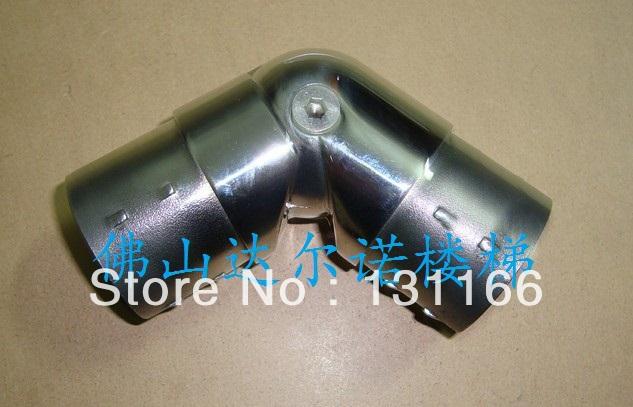 Stair handrail fittings / 51mm diameter stainless steel tube activities Elbow(China (Mainland))