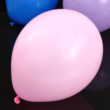 10inches 2.3g inferior smooth pink latex balloon classical toys 50 pieces/lot inflatable advertising balloons(China (Mainland))