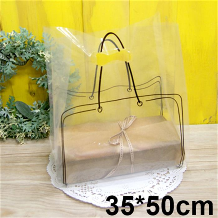Clear Plastic Bags With Handles Clear Bags With Handle