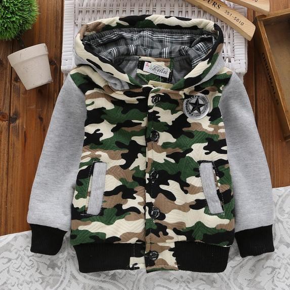 Fashion Camouflage Children Jackets 2015 Autumn/Winter Printed Kids Clothes Boys Hoody Sweatshirts Outerwear Coat Girls Jackets<br><br>Aliexpress