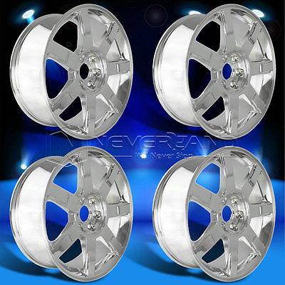 New 4PC/Set 22'' x 9''Alloy Car Wheels Rim Chrome fit for Cadillac Escalade 2009 +31 offset USA Stock Free Shipping(China (Mainland))