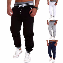 Harem Pants New Style Fashion 2015 Casual Skinny Sweatpants Sport Pants Trousers Drop Crotch Jogging Pants Men Joggers Sarouel(China (Mainland))