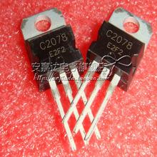 Buy Free 5pcs/lot NPN transistor, 27MHz RF amplifier 2SC2078 C2078 TO-220 original Product for $3.53 in AliExpress store