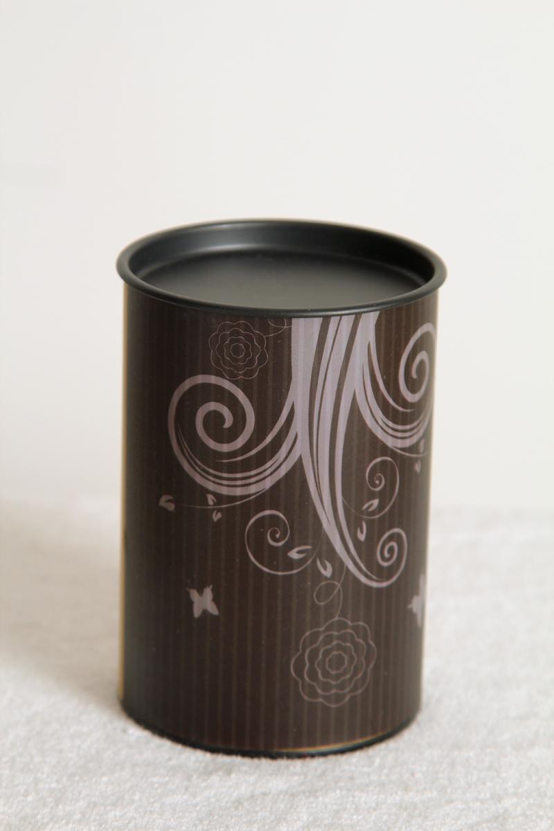 Free shipping wholesale 28pcs/lot 80*120mm Kraft Material Tea Packaging Tube Aluminium Inside(China (Mainland))