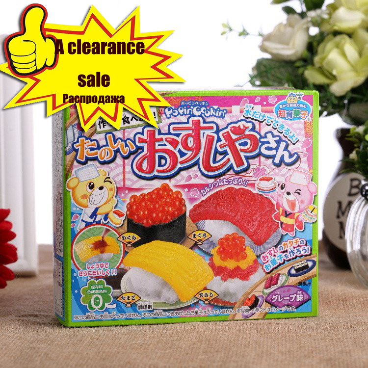 Free shipping mini sushi DIY handmade candy gift sweets and candy food candy box chinese food