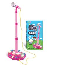 Korea children's music microphone microphone Toy microphone singing karaoke ok With MP3 cable can connect to the mobile phone(China (Mainland))
