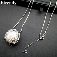 Buy Simple Chain Modern Girl New Long Necklace Women Pendants Fashion Jewelry wholesale Cute Gift for $2.96 in AliExpress store