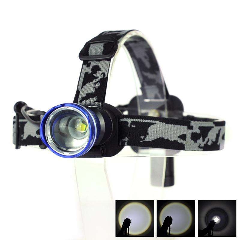 Налобный фонарь Brand New 1800 CREE xm/l T6 18650 2155 налобный фонарь hedeli t6 cree xml 3000 18650 ht410c2
