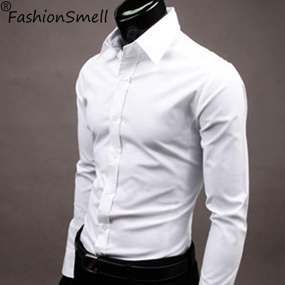 2015 Mens Slim Fit Casual Blouse Unique Neckline Stylish Long Sleeve Shirt Turn down Collar Men