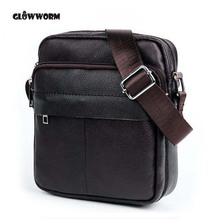 Buy Genuine Leather Men Bags Hot Sale Male Small Messenger Bag Man Fashion Crossbody Shoulder Bag Men's Travel New Bags CX385 for $11.69 in AliExpress store