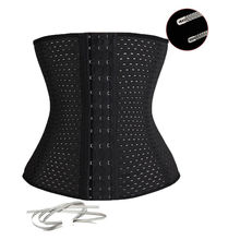*USPS* Lady Sport Waist Tummy Girdle Glass Waist Trainer Body Shaper For Ladies Underbust Control Corset(China (Mainland))