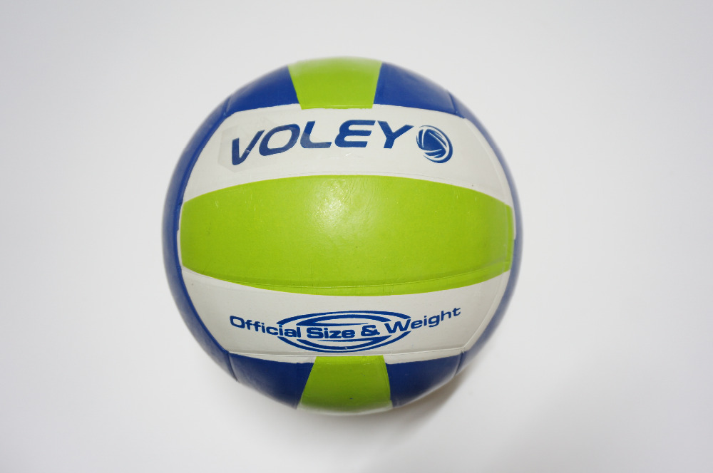 Outdoor Sand Beach Volleyball Game Ball Thickened Soft PU Leather Volleyball Match Training Volleyball Ball Size 5(China (Mainland))