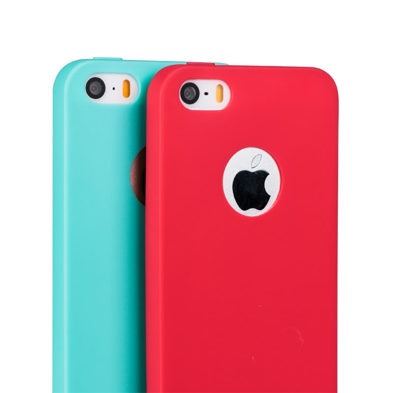 10 colors Ultrathin Case for iPhone 5 5S Candy Colors Soft TPU Silicon Cell Phone Cases with Logo Window Accessories(China (Mainland))