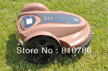 Free Shipping 2014 Newest Arriving Auto Lawn Mower (Li-ion Battery) With Password,Schedule Language and Subarea Setting Function