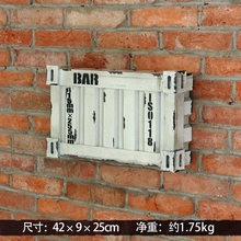 New arrival Home Decor Wall sticker creative container wall Decor Wall Decor for bar meter box old cafe decorative board(China (Mainland))