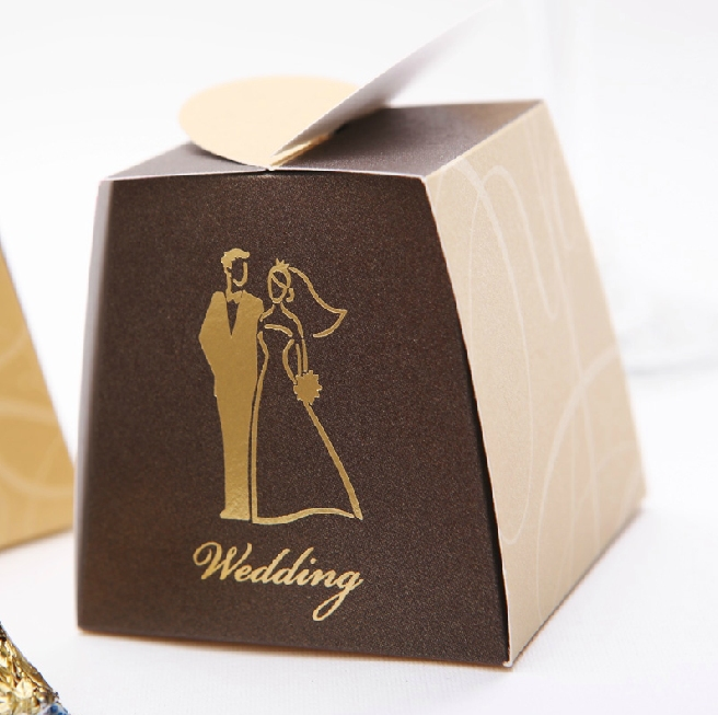 50PCS/lot Love couple, high quality heart design Wedding Favor gift boxes. Sweet/candy box. chocolate/cookie boxes.(China (Mainland))
