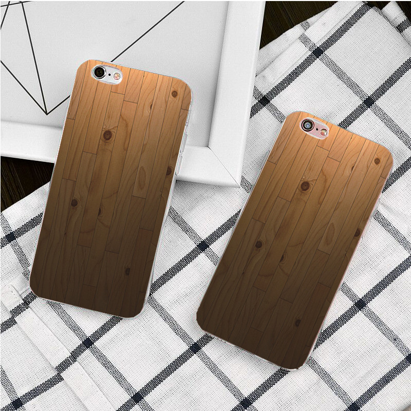 Vintage wood Candy Rubberized Plastic Hard Case For iPhone 5 se 5c 4s 6s 6 Plus 6s Plus 7 Plus Cover Mobile Phone Cases(China (Mainland))