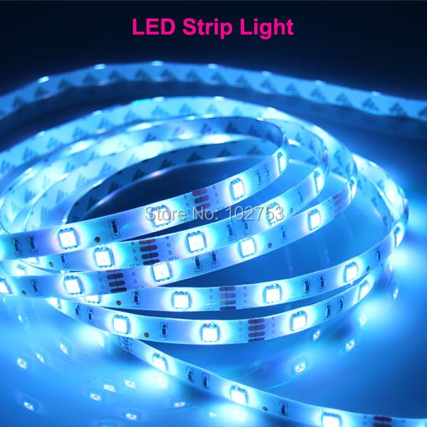300LED led strip 5630, free shipping high lumen double FPC led strip 5m, IP20 CE certified DC12V/24V flexible led light strip(China (Mainland))
