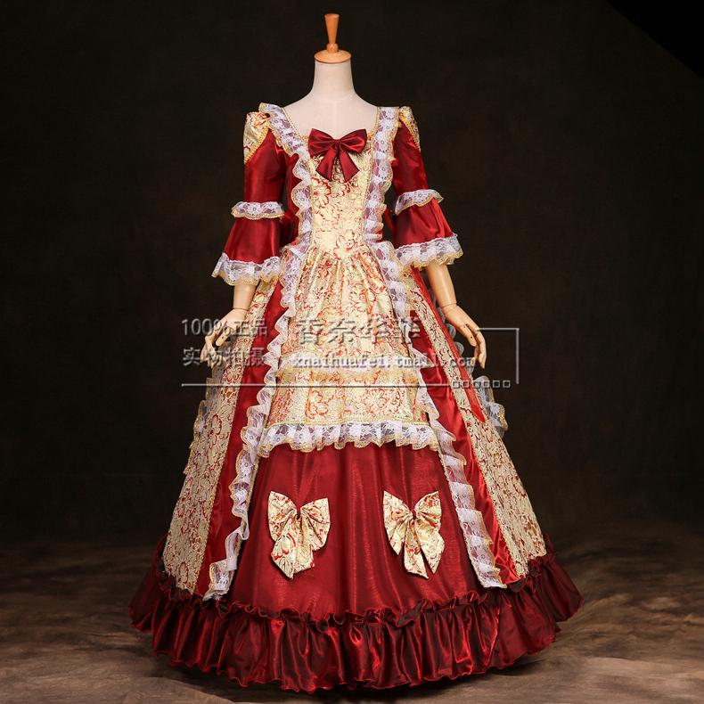 High Quality Women Renaissance Victorian Dress Halloween Costume ...