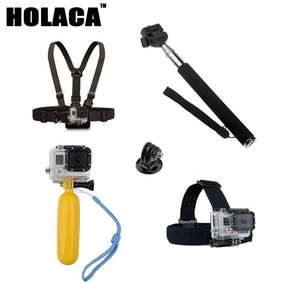 For Gopro Monopod Accessories Monopod for Gopro Float Bobber Chest Belt For Gopro Hero 4 Session 3 SJ4000 Xiaomi yi Accessories(China (Mainland))