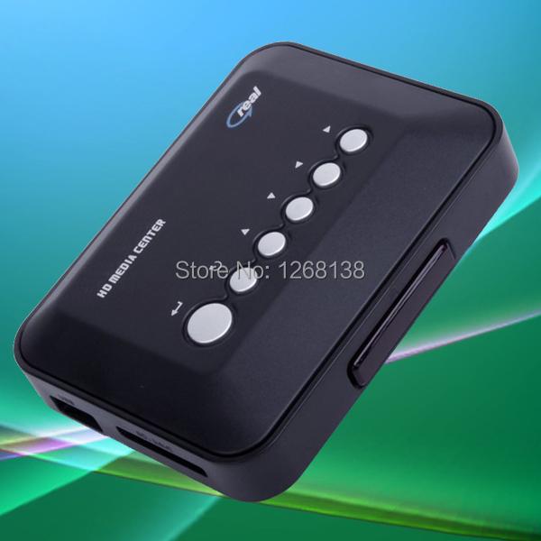 wholesale 1080P HD Media player support hdmi vga mkv HDD media player Cheapest(China (Mainland))