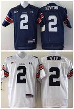 2016 Cheap College Football Jerseys,Auburn Tigers #2 Cam Newton Blue White,Stitched Logos(China (Mainland))