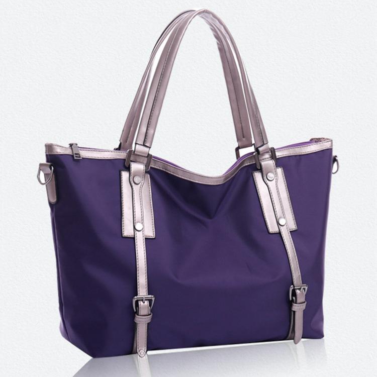 2015 New waterproof women shoulder bag top quality candy color big nylon women bag fashion girls handbags lady crossbody bag(China (Mainland))
