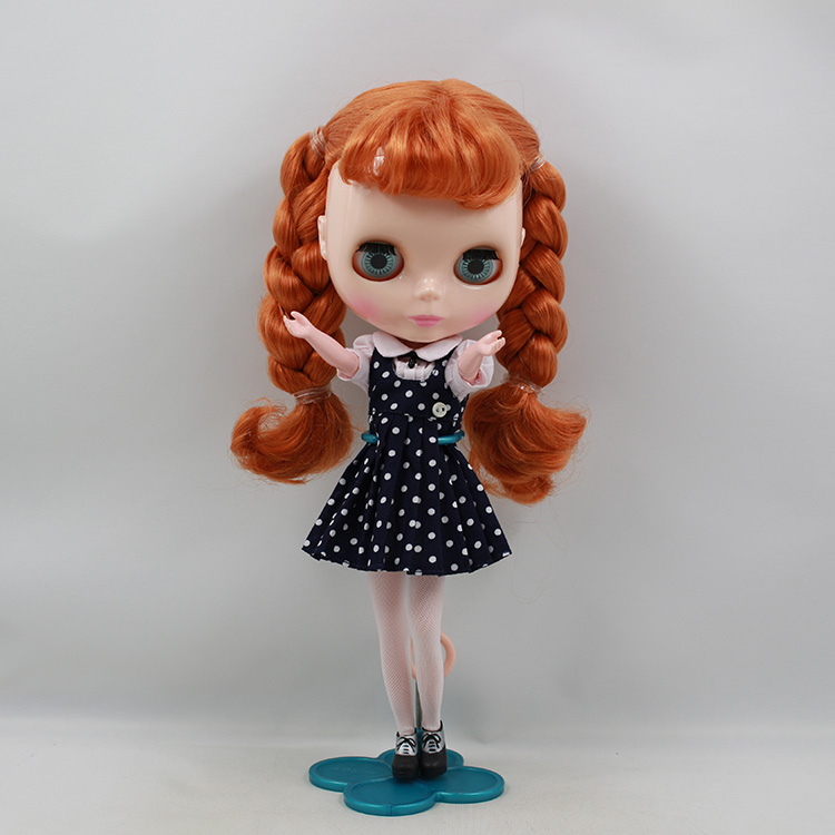 Taka Blyth braided cloth doll Orange double horse Director Bryan baby modified for new<br><br>Aliexpress