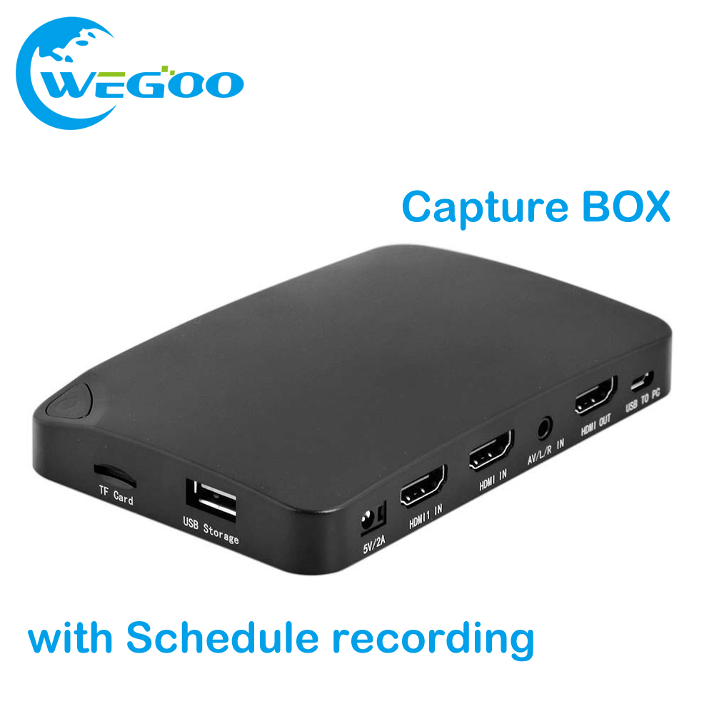 YK940 4K2K UHD Record Capture BOX 1080P Capture HDMI Recorder Box HD video for DVD OTT Receiver PC Xbox with Schedule recording(China (Mainland))