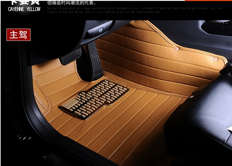 waterproof XPE material non slip full surrounded car floor mats for Benz Smart SMART fortwo elf dedicated wholly<br>