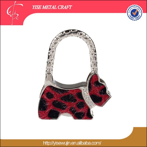2015 Protable cheap folding bag hanger purse hook(China (Mainland))