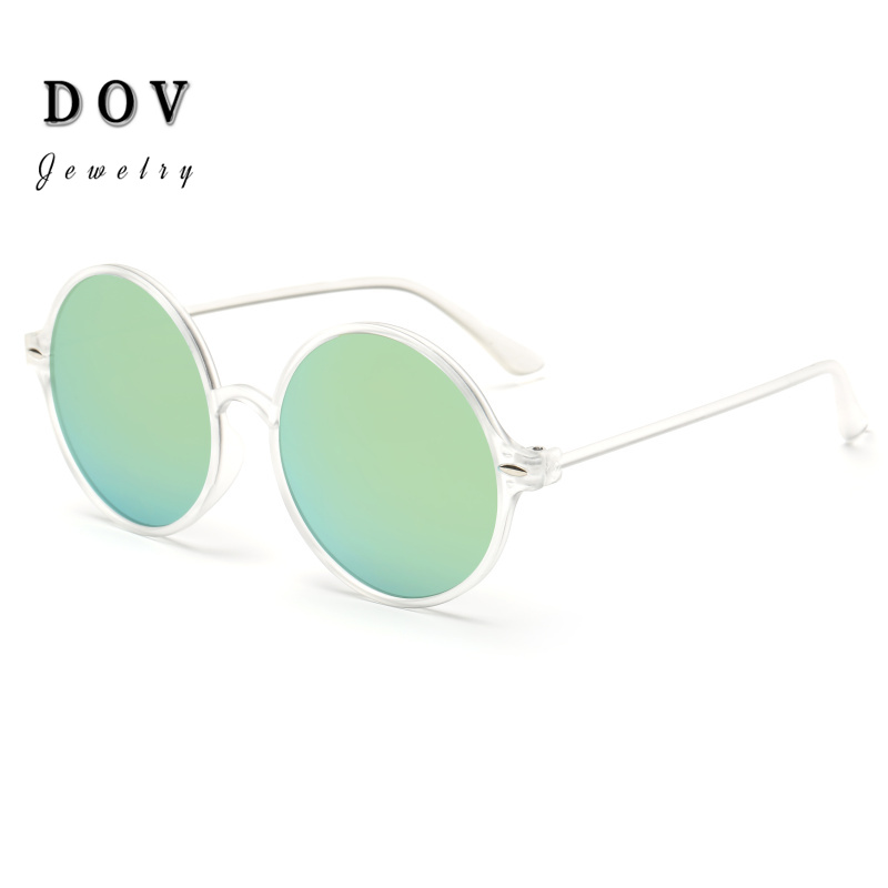 2015 fashion cheap round sunglasses women steampunk sun glasses outdoor for fishing color lenses glasses s141(China (Mainland))