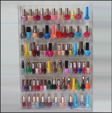how to build nail polish organizer