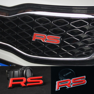Rs in net alias car refires rs car stickers label the appendtiff stereo sports rs car stickers(China (Mainland))