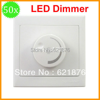 Free shipping 50pcs/lot LED Dimmer 300w  AC220V 50Hz Dimmable Driver Brightness Controller For Dimmable ceiling light spotlight