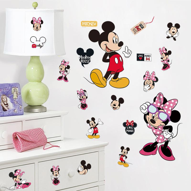 Mickey art promotion achetez des mickey art promotionnels for Stickers mickey chambre