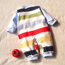 Winter Thin 100 Cotton Newborn Baby Girls Boys Carters Rompers Baby Romper Body Suit Cartoon Long