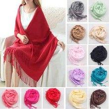 2015 di modo nuovo nizza sciarpe e stole vntage adulto cashmere scialle moda warm neck wrap multi colori donne morbida sciarpa(China (Mainland))